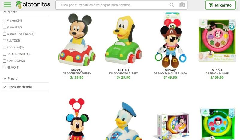 platanitos juguetes venta online