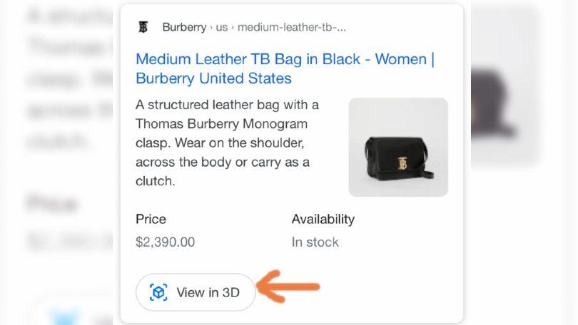 Google 3D para ecommerce