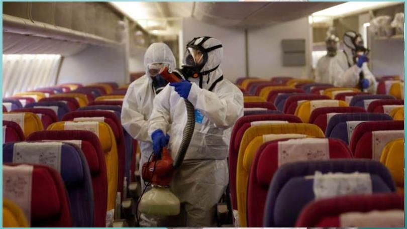 Coronavirus afecta al sector viajes y vuelos