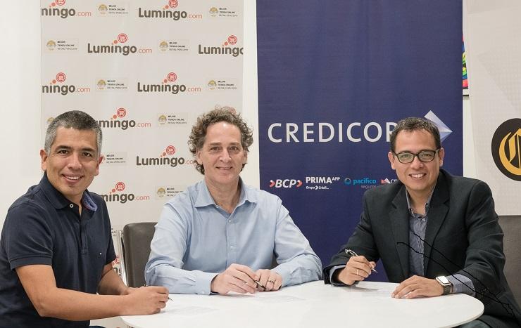 Credicorp ingresará al accionariado de marketplace Lumingo