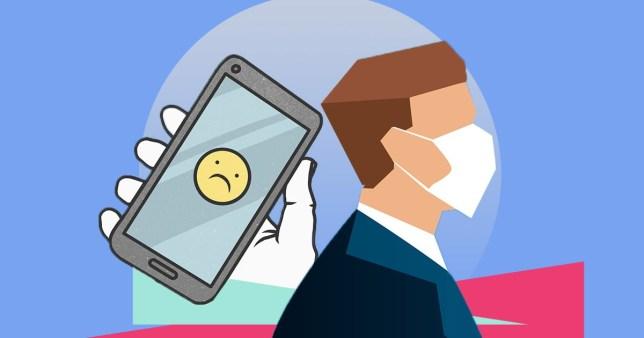 venta smartphone coronavirus