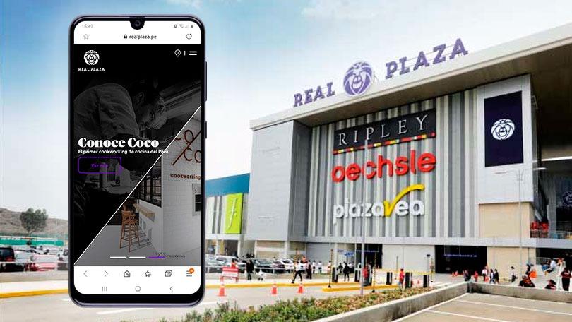 Real Plaza plataforma ecommerce