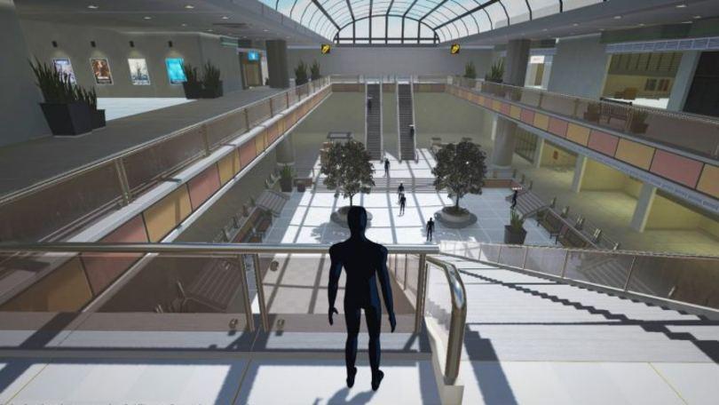 primer centro comercial virtual Perú