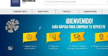 Volvo comercio electrónico Perú
