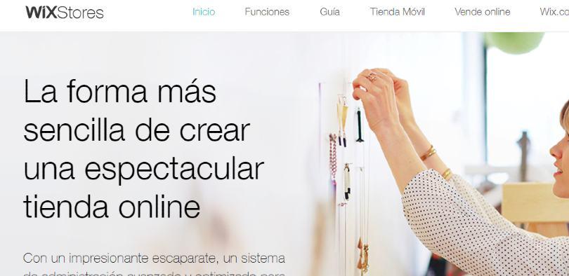Plataforma ecommerce Wix