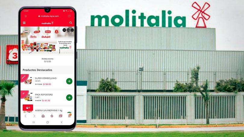 Molitalia lanza su tienda online