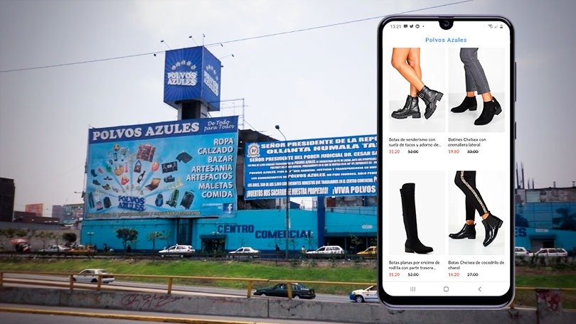 Polvos Azules tienda online