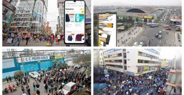 centros comerciales online Gamarra y Las Malvinas