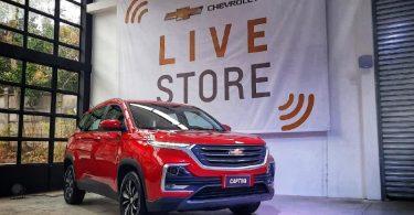 Chevrolet tienda virtual Perú