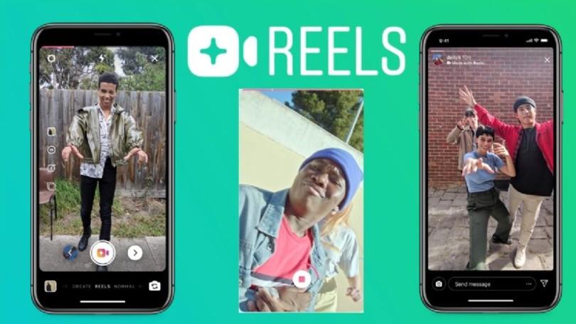 Instagram Reels competidor de tik tok
