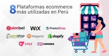 Tienda virtual: las 8 plataformas más usadas en Perú