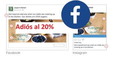 Facebook permite más del 20% del texto