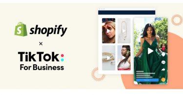 Shopify se alia con TikTok para potenciar el ecommerce social