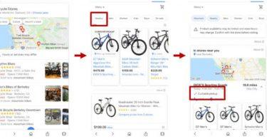 Google shopping entrega