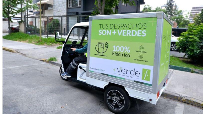 Falabella vehículos eléctricos