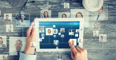 red social orientada a las empresas y el trabajo