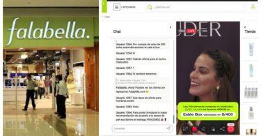 Falabellla Perú realiza su primer livestream