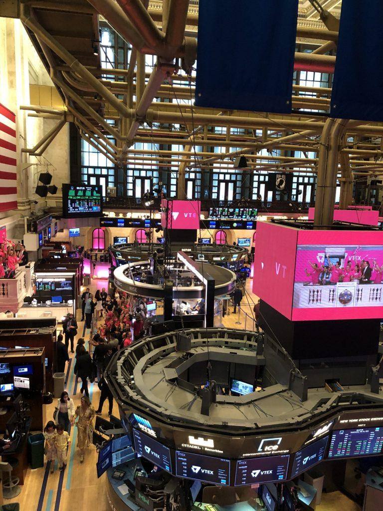 VTEX cotiza en Bolsa de Nueva York