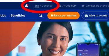 BCP quechua