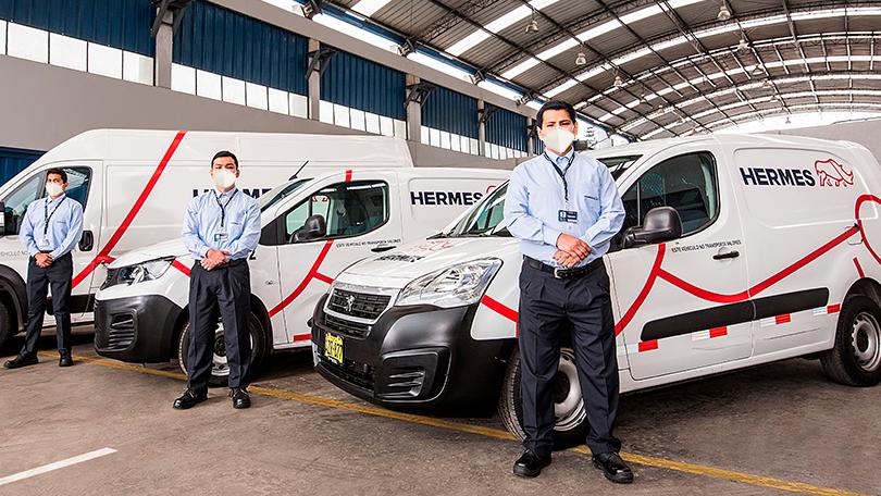 Hermes logística ecommerce.